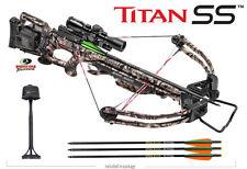 New Tenpoint Titan SS Crossbow Scope Package Mossy Oak Treestand w/ ACUdraw 50