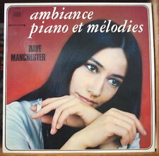 DAVE MANCHESTER AMBIANCE, PIANO ET MELODIES CHEESECAKE COVER FRENCH  LP ARION
