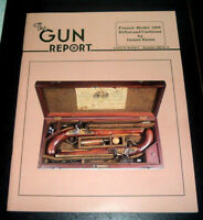 The Gun Report Magazine - Nov. 1986 - French Model 1866 Rifles and Carbines