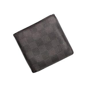Louis Vuitton Wallet Black Grey Graphite Damier Leather
