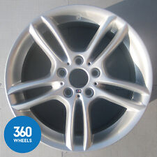 "1 x GENUINE BMW 1 SERIES 18"" 261 M SPORT DUAL SPOKE REAR ALLOY WHEEL 36117891051"