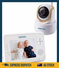 "Nannio Comfy 3.5"" Video Baby Monitor with Enhanced Super Night Vision Camera, Lo"