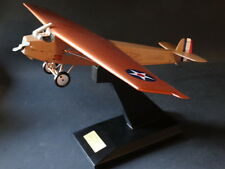 Danbury Mint Fokker T-2 Plane 1:32 Scale First N.A.T. Flight Airplane Wood Model