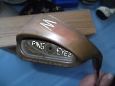 PING EYE 2 - BeCu - PITCHING WEDGE - PW - ALL ORIGINAL - VINTAGE - OUTSTANDING