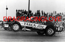 "Bill Lawton ""Tasca Ford"" ""Mystery 9 8?"" 1966 Ford Mustang NITRO Funny Car PHOTO!"