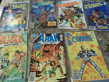 Lot of 7 DC Comics - ATARI FORCE 1st Issue, Power Lords, Arak & Cyborg