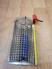Juro Stainless Steel Berley Bucket Cage 25cm x 12cm Weighted Lead Base NEW