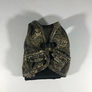 VTG GI Joe Style US Army Military Uniform Camo Vest for 1/6 scale action figure