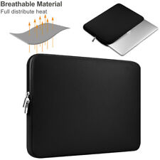 """For 13"""" Macbook Mac Air/ Pro/ Retina Carrying Laptop Sleeve Cover Bag Case Black"""