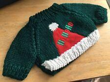 Doll/Bear Ho Ho Ho Sweater