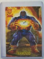 1996 Fleer Skybox Marvel DC Amalgam Thanoseid Canvas Chase 5 of 9