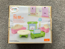 George Home Wooden Dolls House Living Room Set - Brand New In Box