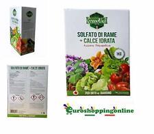 Concime fogliare rame al 25% +calcio 50 % piante frutta olivo orticole floricole