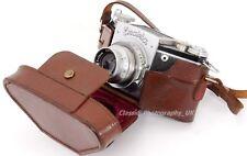 GENUINE Leather Case for 127 Roll Film Medium Format IHAGEE Exakta VP Models