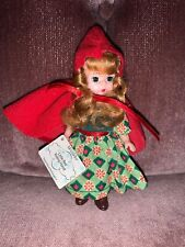 McDonald's 2002 Madame Alexander Little Red Riding Hood White Curly Hair