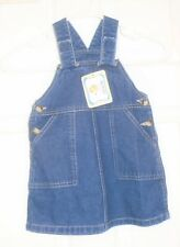 Monag Kids Girl's Blue Denim Dress/Jumper Sleeveless Size 18 Months New Nwt