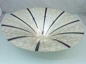WMF IKora Designer Schale Art Deco / Vintage Obstschale Metall | Ø 35 cm