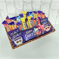Chocolate hamper dairy milk mini bar selection birthday gift basket