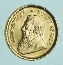 1980 South Africa 1/10 Oz. Gold Krugerrand - Charles Coin Collection *001