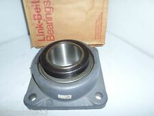 "** NEW IN BOX **  LINK-BELT F255 3-7/16"" 4-Bolt FLANGE BEARING # FAST SHIPPING"