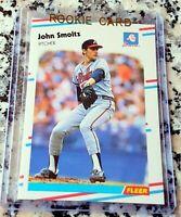 JOHN SMOLTZ 1988 Fleer Update Rookie Card RC Atlanta Braves 1995 WS Champs HOF $
