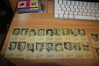1947 Peerless Full set of (40) Cards The Rexall Store  Uncirculated