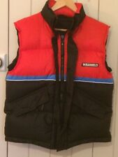 Stunning Vintage Retro 90s F1 Williams Gilet/Bodywarmer Size S Down Feather