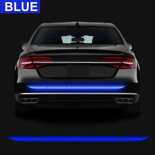 Universal Car Auto Reflective Warn Strip Tape Bumper Safety Stickers Decal Blue