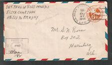 June 1944 WWII censor cover Sgt Paul W Ross 81 Sta Comp Sqdn APO 133 Grantham UK