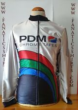 Chaqueta Ciclismo Team PDM Años 80s Italy Shirt Trikot Maglia