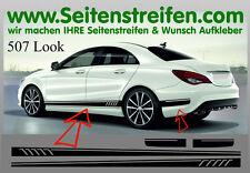 Mercedes Benz CLA - 507 Replika Seitenstreifen Dekor Aufkleber Set Art: Nr: 7068