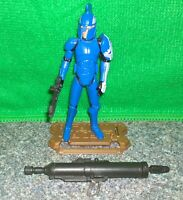 Star Wars Clone Wars Captain FARO ARGYUS Senate Security Commando Figure - Used