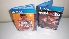 Madden Nfl 20 & Nba 2K20 (Playstation 4, Ps4)