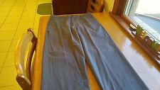 Dockers D4 Flat Front Mens Casual Pants Grey 34/34 Worn Once! FREE SHIPPING