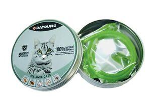Cat flea collar, Dayoung brand, tick & mosquito repellent  (UK seller)