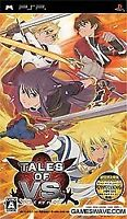 USED PSP Tales of VS Game soft Japan import