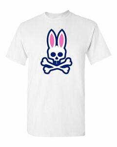 Psycho Bunny Penley Men T-Shirt Funny Cool Vintage Adult Tees