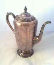 Antique Evandale - W.M. Rogers Tea Pot - Coffee Pot Silver-plate