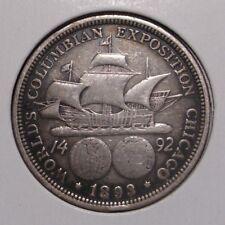 1893 Columbian Exposition Commemorative Silver Half Dollar , VF