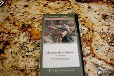 New The Great Courses MUSEUM MASTERPIECES THE LOUVRE The Teaching Co.2dvd +book