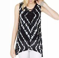 Rue 21 Plus Black Tie Dye GIRLS BITE BACK Graphic Crop Hoodie size 3XL