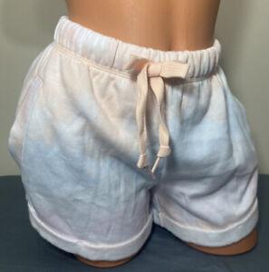 NWT Victorias Secret PINK Graphic Boyfriend Shorts Size Medium