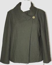 St. John Olive Green Jacket w/Buttons 14