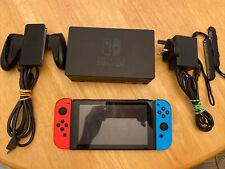 Nintendo Switch Console Neon UNPATCHED **READ DESCRIPTION**