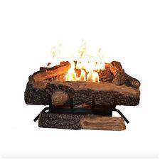 Emberglow Oakwood 24 in Vent Free Natural Gas Fireplace Log Set Heater Logs Kit