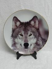 "Defender of Wildlife Collector's Edition 11"" Wolf Plate"