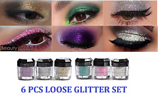 6 Beauty Treats Cosmetics Eye shadow Color Makeup PRO GLITTER Eyeshadow PALETTE