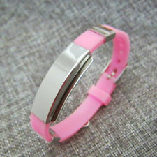 Medical Alert ID Bracelet - Personalized and Adjustable -Free Engraving Included