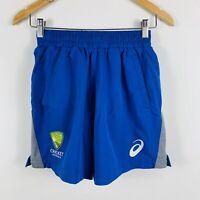 Asics Cricket Australia Womens Cricket Shorts Size 10 Elastic Wiast Training