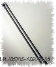 AIGUILLES A TRICOTER 40 cm PLASTIQUE N°6.5  Neuves